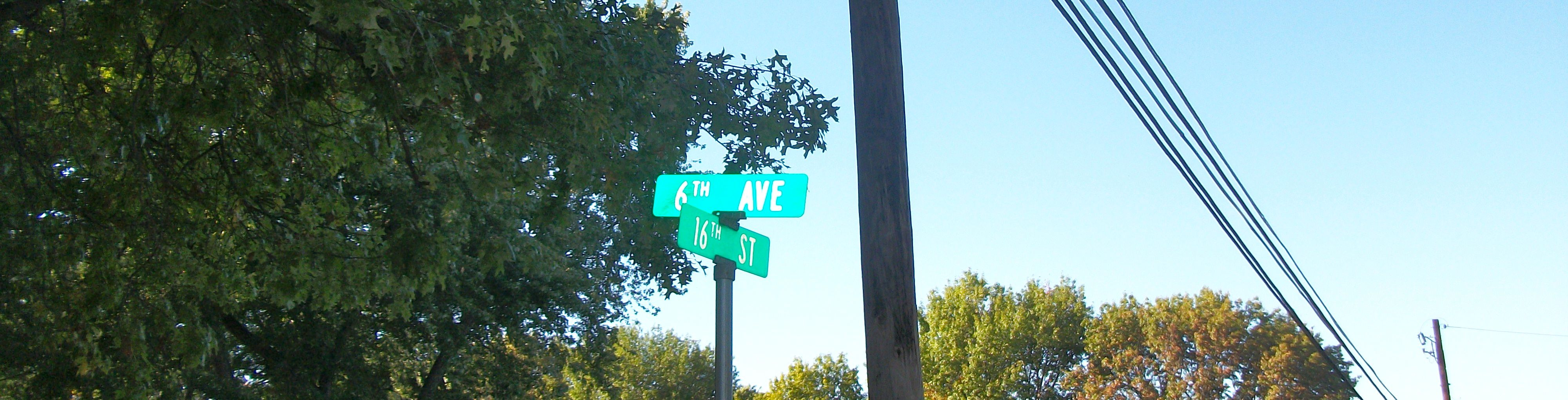A sign without an Avenue